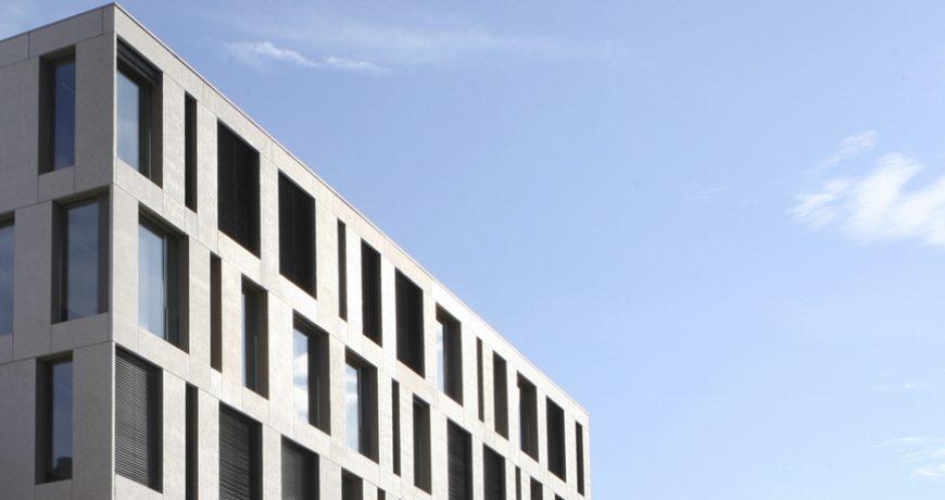 Bau von Architekt Knellwolf/Metron/in Brugg AG